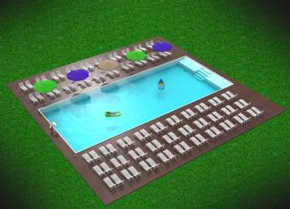 композитный керамический бассейн