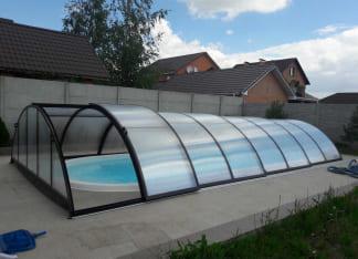 Купить композитный бассейн Лагуна 8 метров в Ивано-Франковске