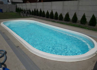 Композитный бассейн Лагуна 8 метров Херсон