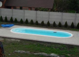 Композитный бассейн Лагуна 8 метров Одесса