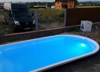 Cтекловолоконный бассейн