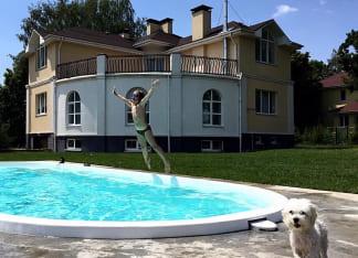 стекловолоконный бассейн Лагуна 8 метров в Херсоне
