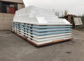 Купить стекловолоконный бассейн в Киеве