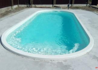 Купить стекловолоконный бассейн Лагуна 6 метров