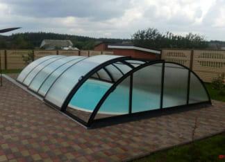 """Купить керамический бассейн Posh-Pools """"Лагуна"""" 8 метров"""