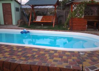 """Купить керамический бассейн Posh-Pools """"Лагуна"""""""