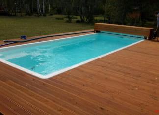 Купить стекловолоконный бассейн 5 метров