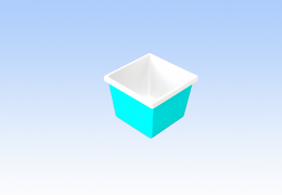 Приямок для бассейна 1,2x1,2x1,0 м