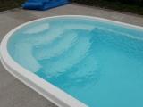 """Купить стекловолоконный бассейн """"Лагуна"""" 10,1 метров Posh-Pools"""