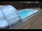 Купить керамический бассейн Posh-Pools с накрытием