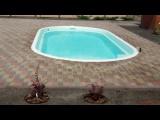 стекловолоконный бассейн Лагуна 6 метров в Украине