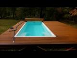 Стекловолоконный бассейн Posh-Pools